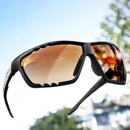UVEX Sunglasses Sportsstyle 706 Finally: Sunglasses for all activities and any light.
