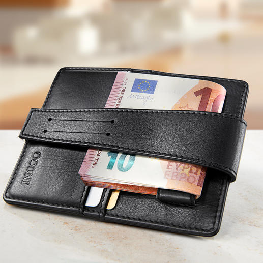 Deep Pocket Wallet Keep your money safe, deep within your trouser pocket. Now available in the UK.