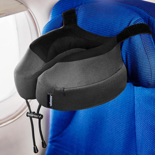 Neck Pillow Evolution® S3™ - The visco-elastic luxury travel pillow from the USA.