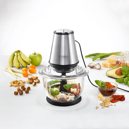Caso Multi Food Processor Chops. Purees. Mixes.