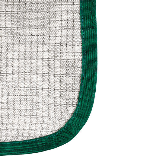The woven protective fibre mesh BD 1 can shield more than 99% of incident radio radiation*.