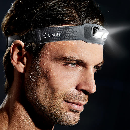 "Ultralight LED Headlamp - 69g lightweight (2.43 oz). 9mm flat (0.35""). And as comfortable as a normal headband."