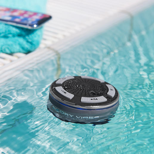 Waterproof Bluetooth Speaker DryVibes - Waterproof. Powerful sound. Wireless. The Bluetooth speaker for every day, leisure and outdoors.