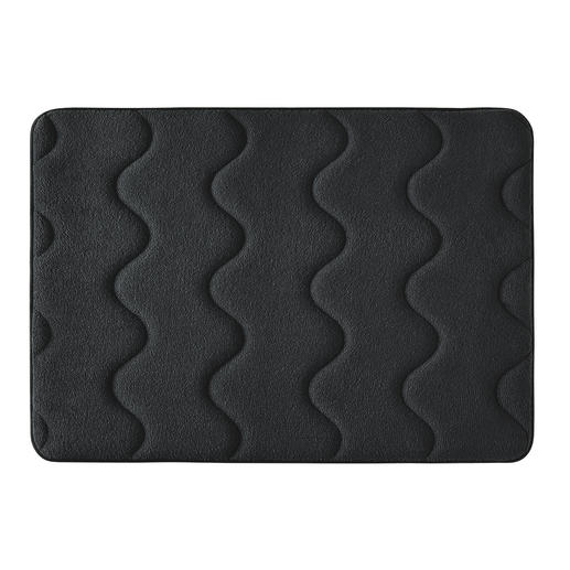 Antibacterial Memory Foam Bath Mat Incredibly soft, absorbent and quick-drying – featuring an antibacterial finish.