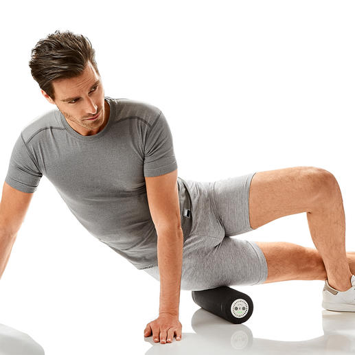 Use the vibrating roller to make your workout particularly efficiently.