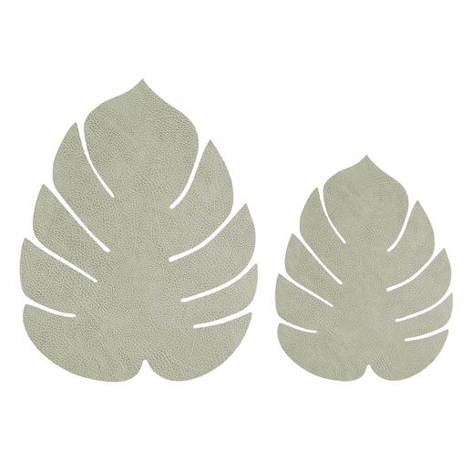 Light Olive Green, Set of 2, large and small