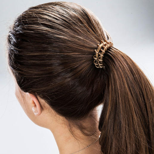 High Performance Spiral Scrunchie, Set of 6 Ingenious spiral shape with patented ring-in-ring technology.