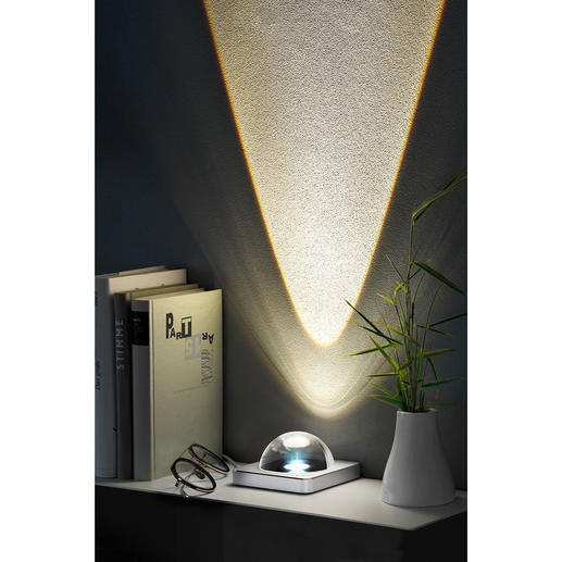 """Adot AM5"" Sunbeam Effect Lamp - A cosy ambience instead of dark corners."