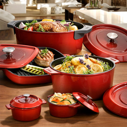 "Cast Iron Cookware ""Iron"" The cast iron classics of the pros. From WOLL, German professional manufacturer with over 40 years of experience."