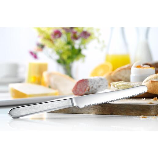 Snack Knife, Set of 6 The perfect breakfast knife: Ideal for cutting and spreading.