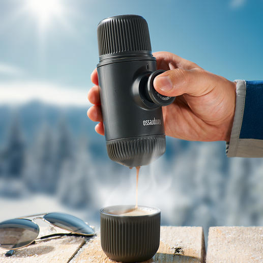 Nanopresso - This espresso machine can do it all.  Without electricity.