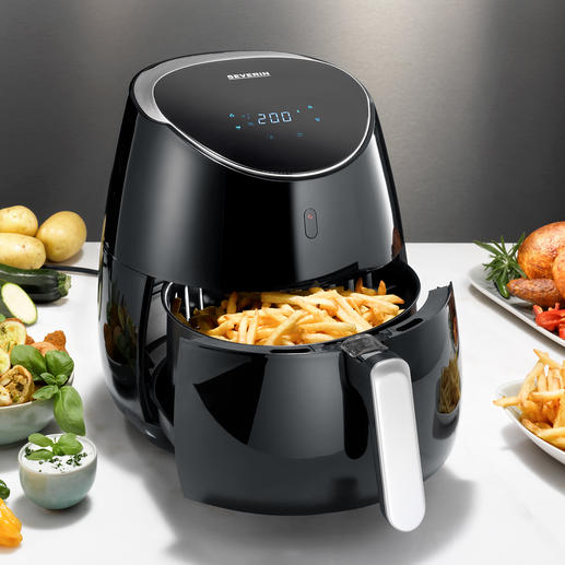 Hot Air Fryer XXL Faster, more powerful, bigger. At a very good price.