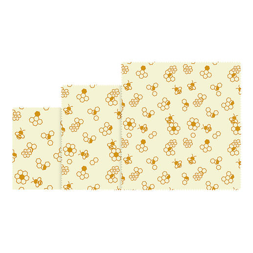 Beeswax Wraps, Set of 3 or Beeswax Wrap, Roll