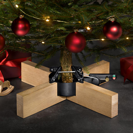"""Copenhagen"" Christmas Tree Stand - Pure elegance, stable, with a comfortable pedal: the Christmas tree stand with an award winning design."