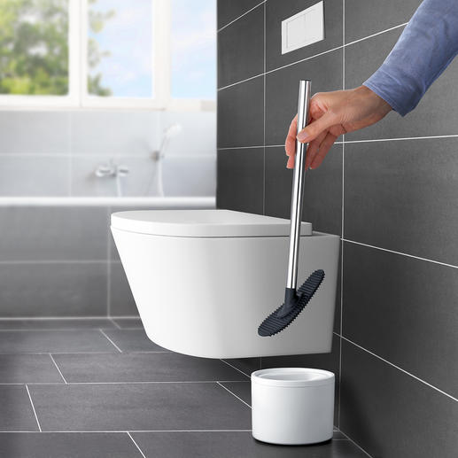 Silicone WC Cleaner Far more flexible and hygienic than conventional toilet brushes.