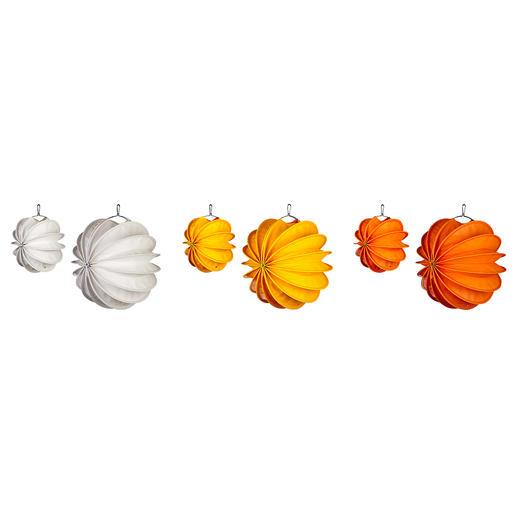 White, Yellow and Orange