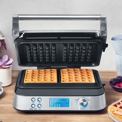 Gastroback Waffle Maker Advanced Control - Ingenious all-rounder that bakes various types of delicious waffles to suit every taste.
