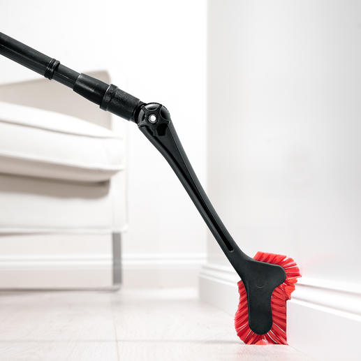 Moulding and Corner Duster Dust-free in no time. No strenuous stooping. No twisting or contorting. No ladder required.