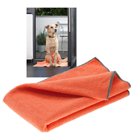 Bioactive Pet Towel, Set of 3 - A dry coat and clean paws in a jiffy. And no unpleasant smells.
