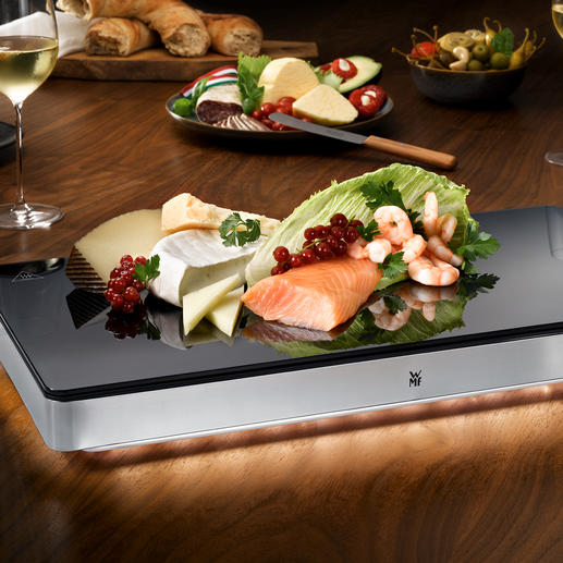 WMF Ambient Hot/Cold Plate - Hot and cold plate in one. In a WMF gastronome size.