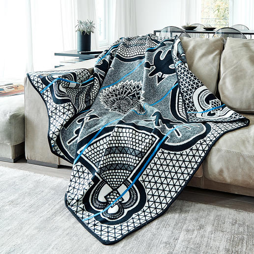 Basotho Blanket - The blanket with over 100 years of history and traditional pattern from Lesotho.