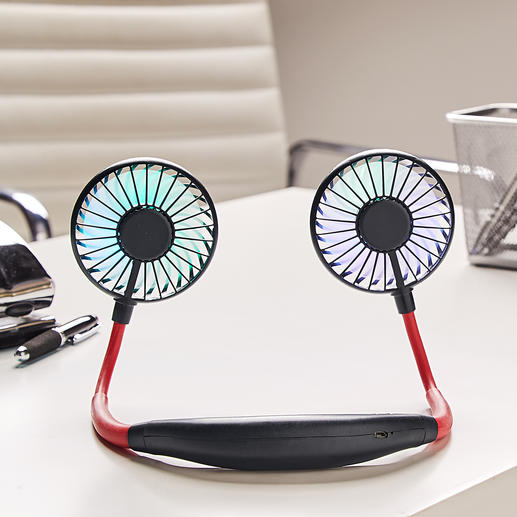 Also ideal as a table fan for the desk or nightstand.