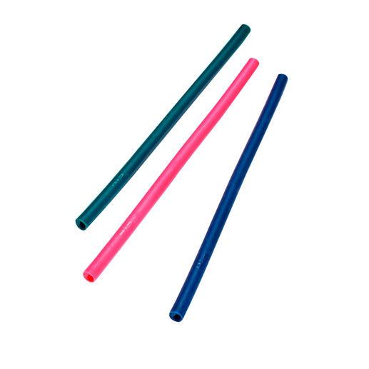 Silicone Drinking Straws, Set of 3