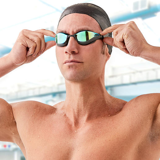 Speedo Fastskin Pure Focus Mirror - The faster swimming goggles are also the better ones.
