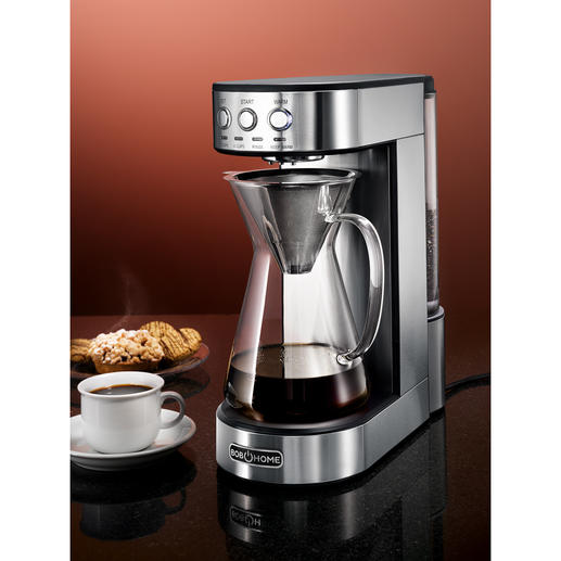 Pour-Over Coffee Maker Modern pour-over technology: For aromatic filter coffee as if made manually.