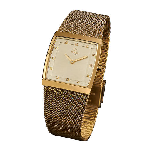 Women's watch, gold