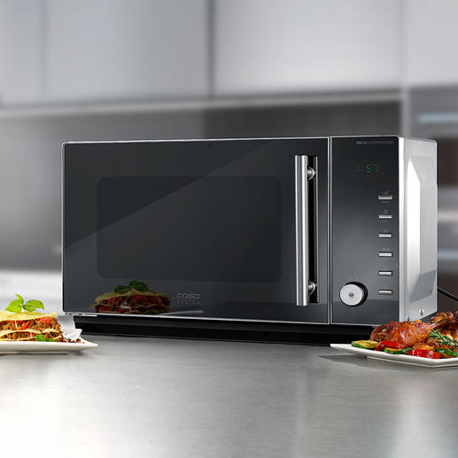 2-in-1 Inverter Microwave MIG25 CERAMIC Premium combination microwave with modern inverter technology, ceramic reflector base and grill. At a very good price.
