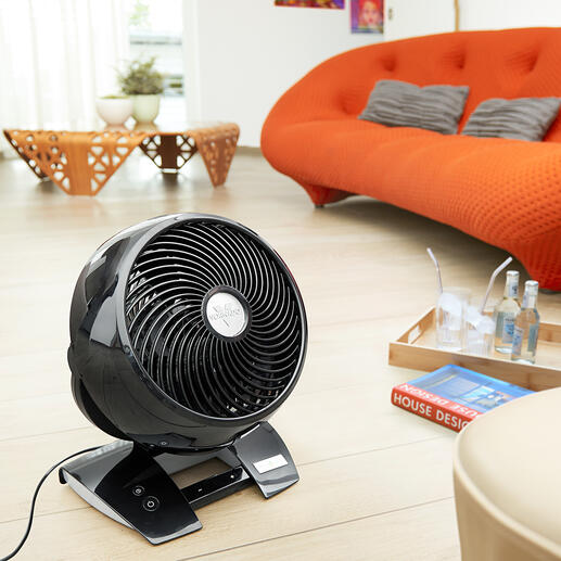 Vornado® 6303DC America's unbeatable air circulator – powerful, quiet and comfortable. Now with 99 (!) speed levels, timer and remote control.