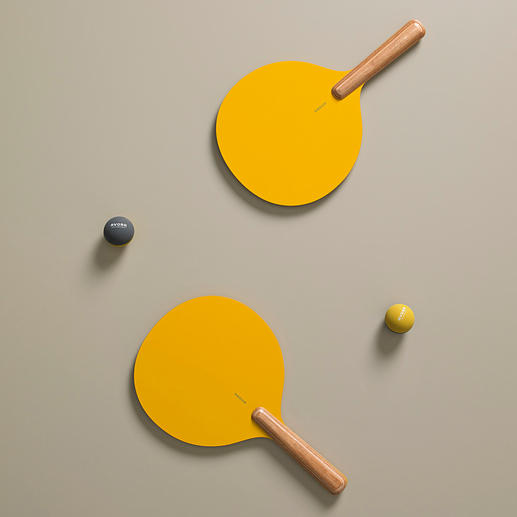 Beach Bat & Ball Set, Set of 2, Yellow