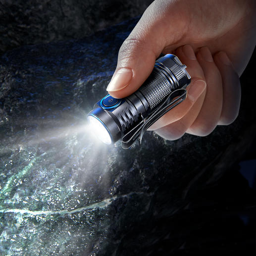 1,000 Lumen Mini Torch The latest generation of mini-torch. Smaller, lighter and even more powerful.