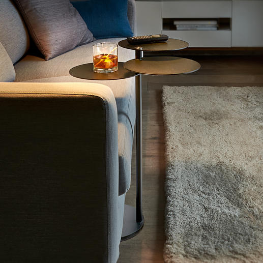 Side Table MALO Gain extra space in the smallest room. Beautiful table with three tabletops.