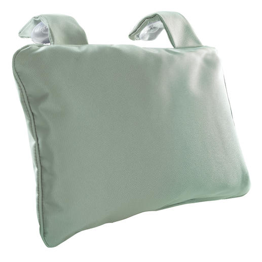 Bath Pillow with suction cups, Grey