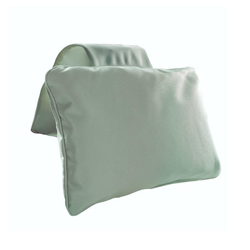 Bath Pillow with counterweight, Grey