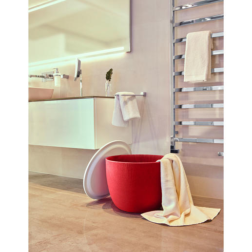 Also ideal for bathrooms and saunas – as a container for your bath towels, sports gear, ...
