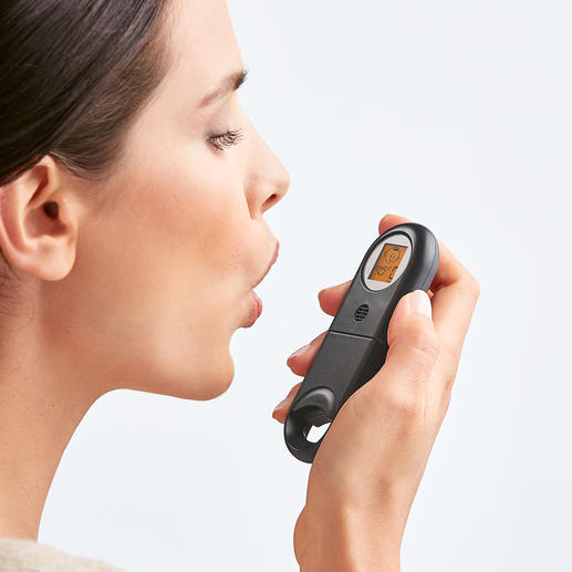 Bad Breath Quick Tester Fresh breath? Within a few seconds you can be sure.