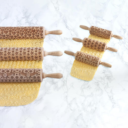 With these ingenious 3D rolling pins, you'll produce little baked works of art in no time.