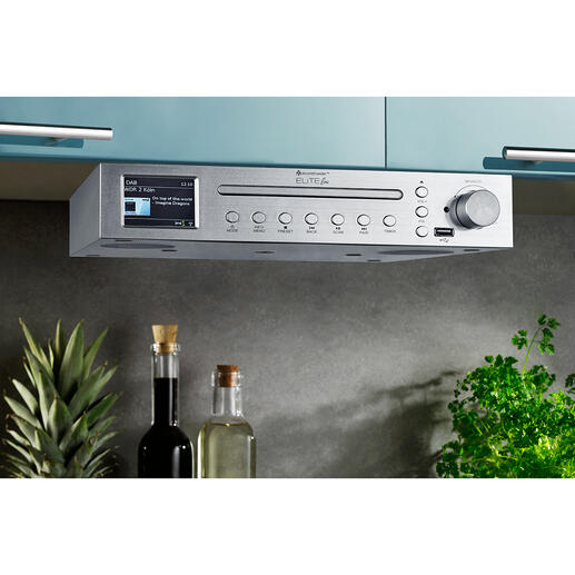 Kitchen Music Centre Elite Line ICD2200SI - Your kitchen music centre: Stylish, exceptionally versatile and with a powerful sound.