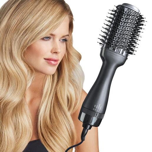 4-in-1 Hot Air Brush This superior hair tool dries, brushes, straightens and styles in one step.