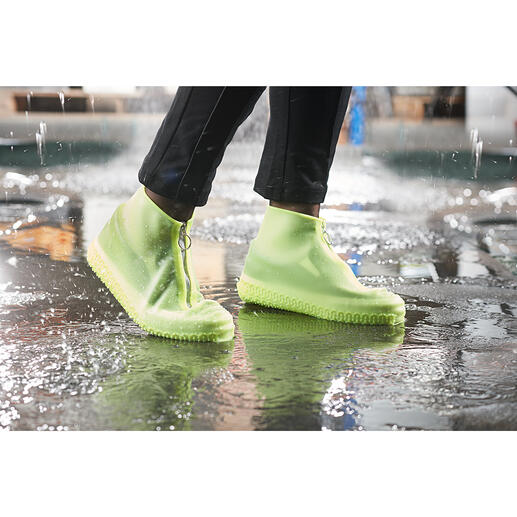 Rain Overshoe Stylish moisture protection for your favourite shoes. Made from transparent silicone. In a cool trainer look.