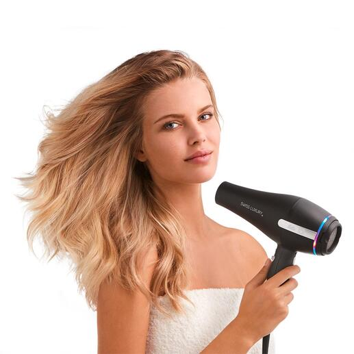 Solis Professional Hair Dryer Hairstyling like a professional – now very easy at home.