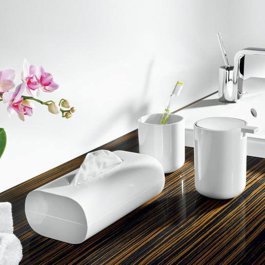 Cool Alessi Bath Accessories Exquisite eye-catchers to keep things orderly. Design: Piero Lissoni, 2010.