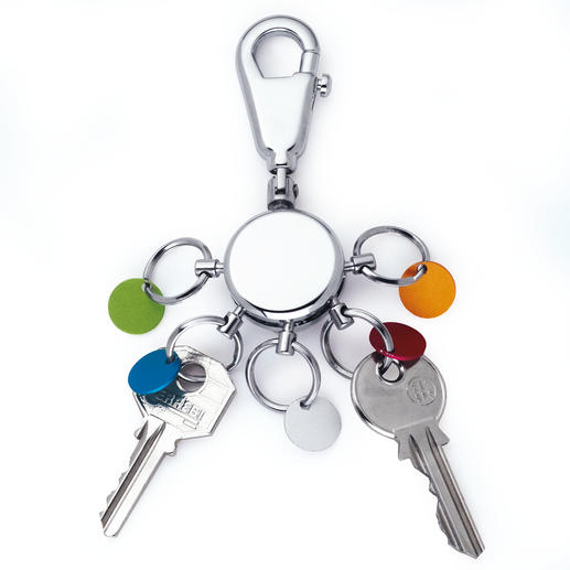 Key Organiser At the touch of a button – the right keys are always at hand.