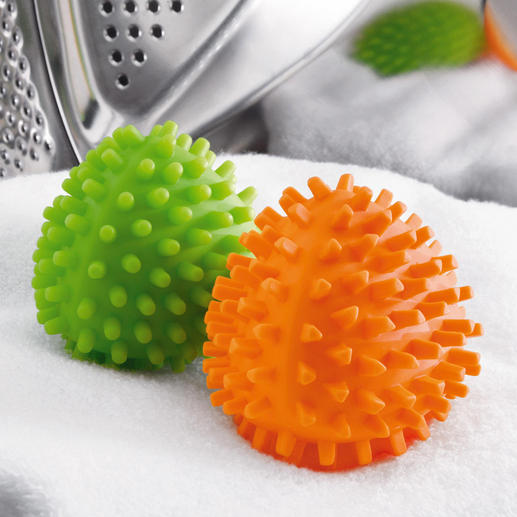 Dryer balls Dryangles, Set of 2 Second generation dryer balls – now even more effective.