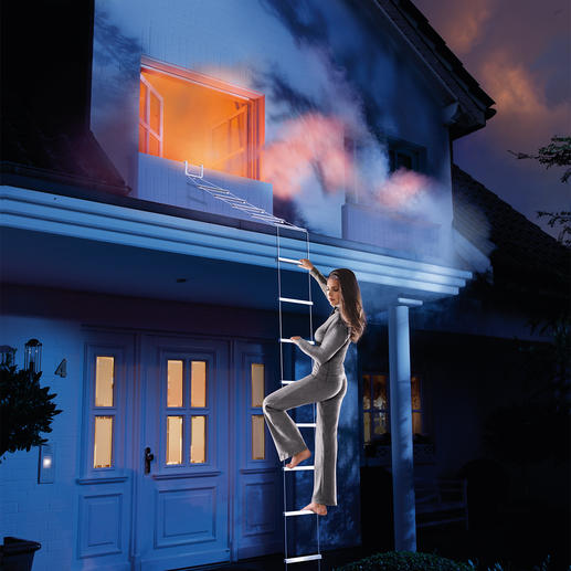 Safety Ladder Your escape route in an emergency.