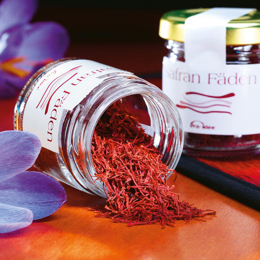 Iranian Saffron Threads - Premium saffron does not have to cost a fortune. A world renowned rarity.