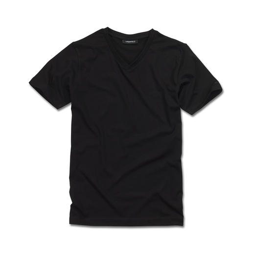 Lagerfeld Basic Tops, Pack Of Two The ideal basic top: Simply black or white. Slim cut. By Lagerfeld.